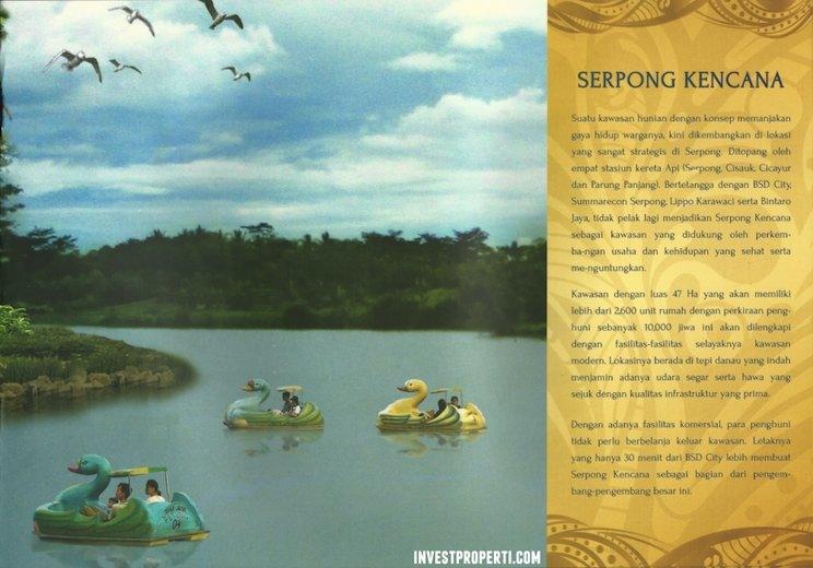 Danau Kencana di Serpong