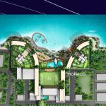 View Monaco Bay Manado Resort Site Plan