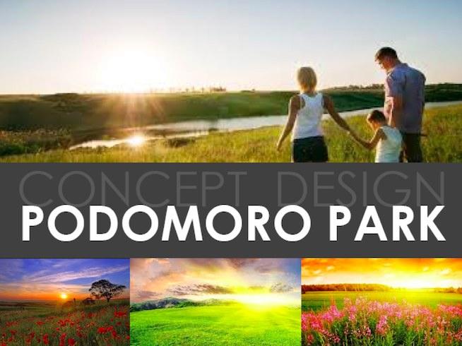 Concept Design Podomoro Park