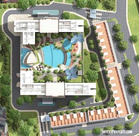 Blok Plan West Vista Apartemen Jakarta