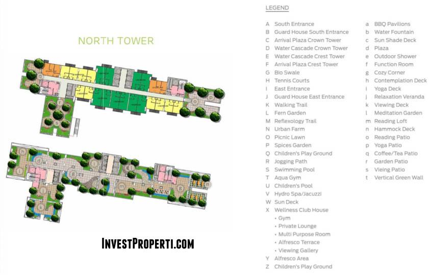 North Tower Floor Plan West Vista