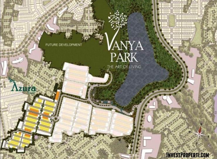 Site Plan Vanya Park BSD City