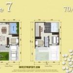 Denah Tipe L7 Azura House Cluster 2