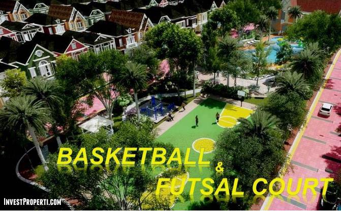 Basketball Cluster Malibu Village Serpong