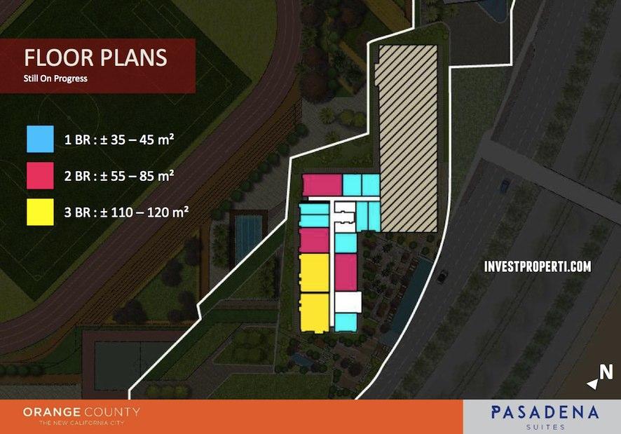 Floor Plan Orange County Cikarang
