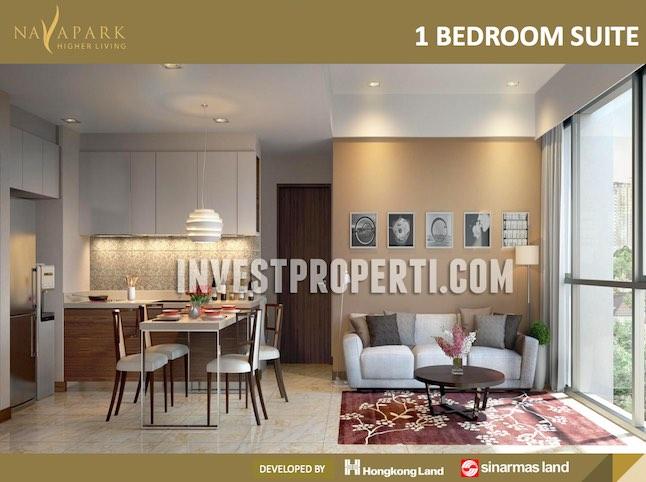 Marigold 1BR Suite (Design Interior)