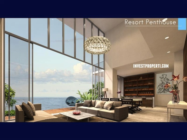 Ancol Seafront Condo Penthouse