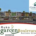 Brosur Ruko Garden Boulevard Citra Raya