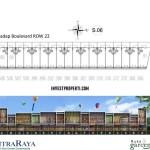 Floor Plan Ruko Garden Boulevard Citra Raya 2