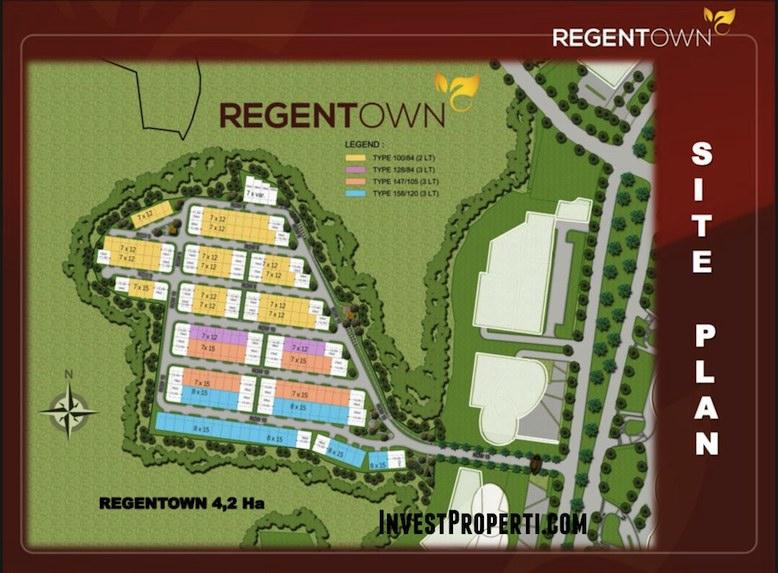 Site Plan RegenTown BSD