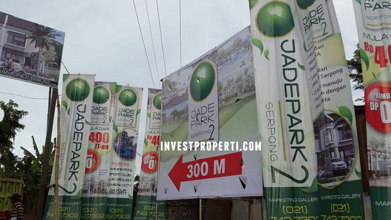 Billboard Iklan Perum Jade Park Serpong
