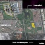 Google Map LINQ Kemayoran Jakarta