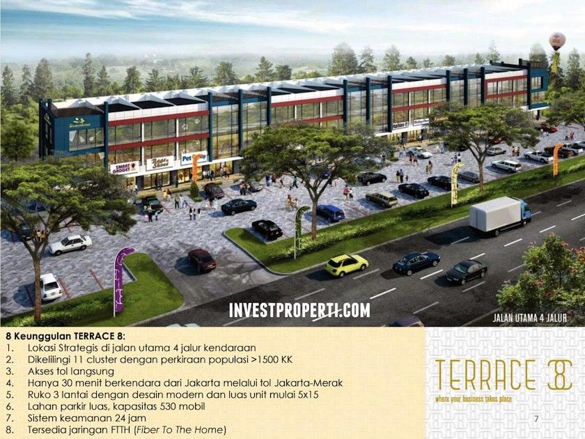 Keunggulan ruko terrace 8 suvarna sutera for Terrace 9 suvarna sutera