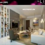 Tower BC 2 BR Livingroom
