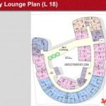 One Velvet Apartment Floor Plan L18