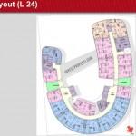 One Velvet Apartment Floor Plan L24