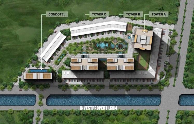 Site Plan LINQ Kemayoran Jakarta