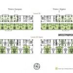 Tree Park City SOHO Type A Floor Plan