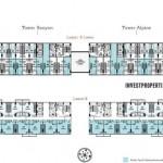 Tree Park City Tangerang SOHO Type B Floor Plan
