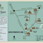 Silk Town Alam Sutera Apartment Map