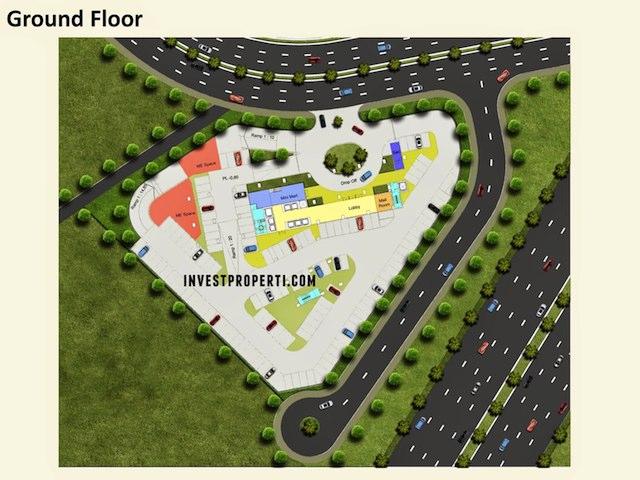 Silk Town Alam Sutera Ground Floor