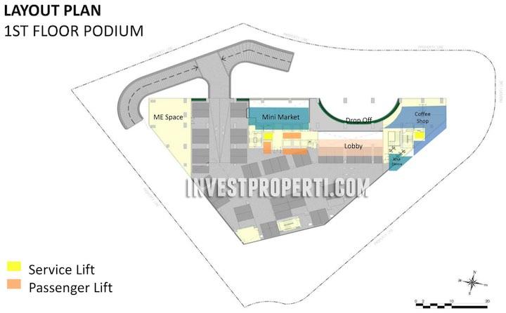 SilkTown AlSut Podium Floor Plan