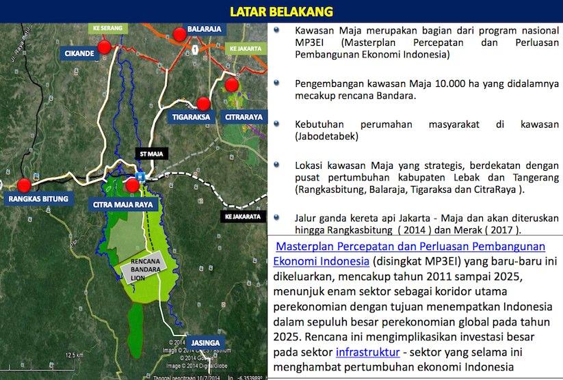 Background Story Citra Maja Raya