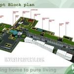 Block Plan Akasa Pure Living Apartment