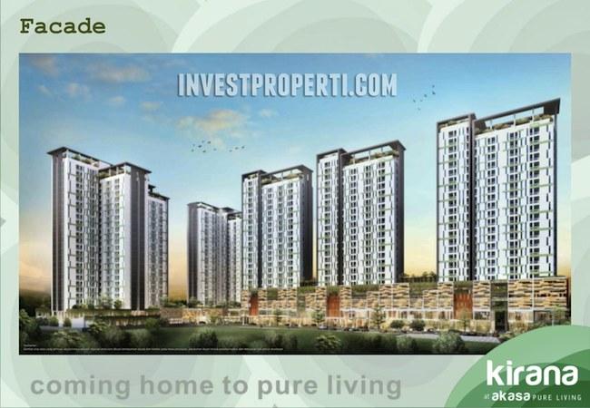 Brosur Akasa Pure Living BSD City Apartment