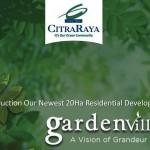 Brosur Rumah Cluster GardenVille Cikupa