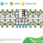 Floor Plan Apartemen Emerald Bintaro