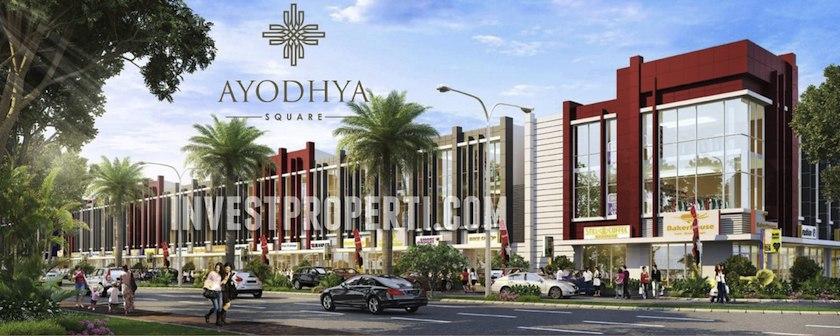Ruko Ayodhya Square Tangerang Alam Sutera