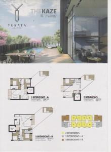 Tipe Unit The Kaze Yukata Suites Alam Sutera