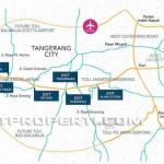 Peta Lokasi Residence 88 Balaraja Map
