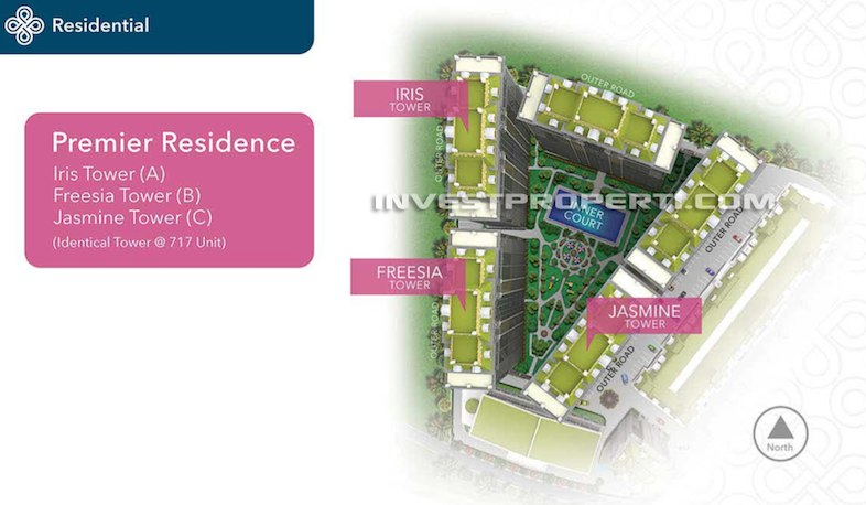 Premier Residence 88 Balaraja Apartment