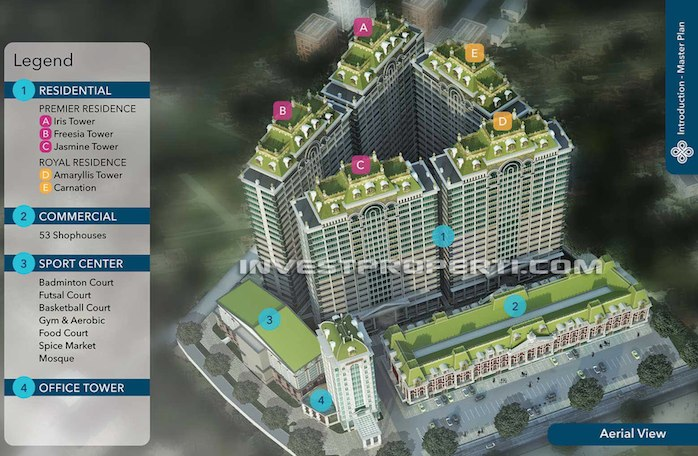 Residence 88 Balaraja Plan