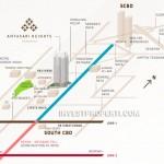 Peta Lokasi Apartemen Antasari Heights