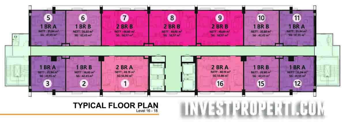 Floor Plan 16 - 18