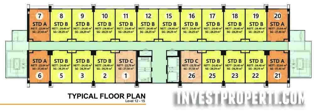 Floor Plan 12 - 15