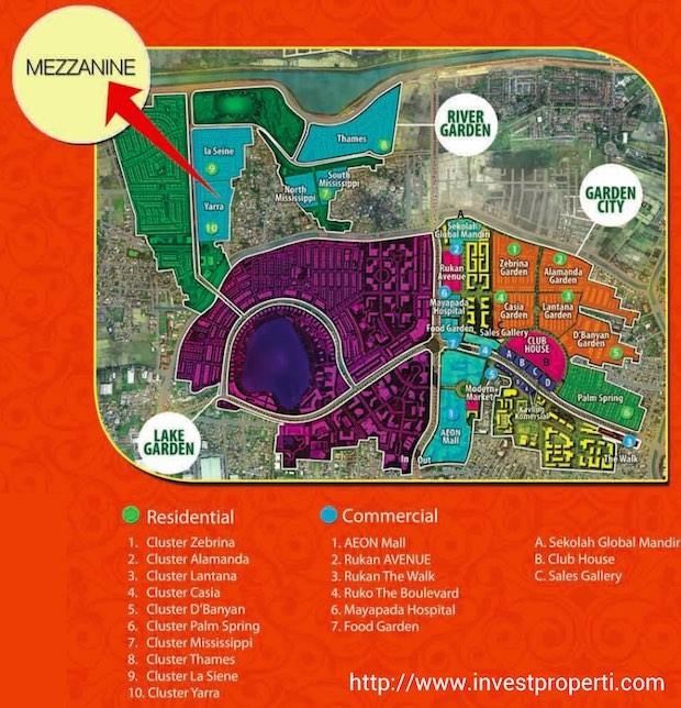Master Plan Jakarta Garden City