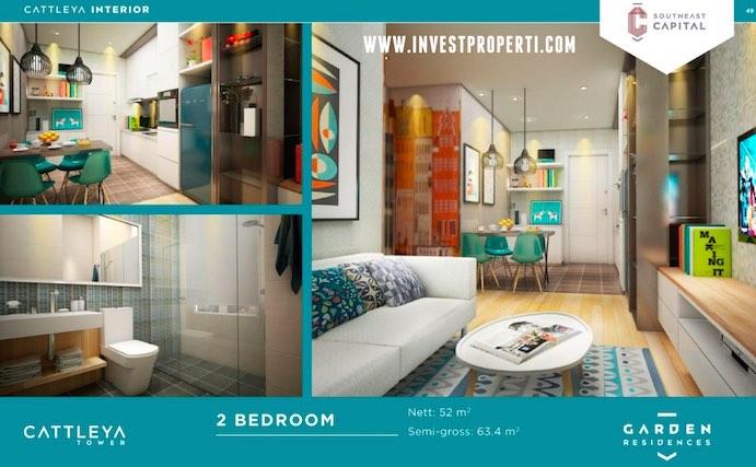 2 BR Interior Design Apartment