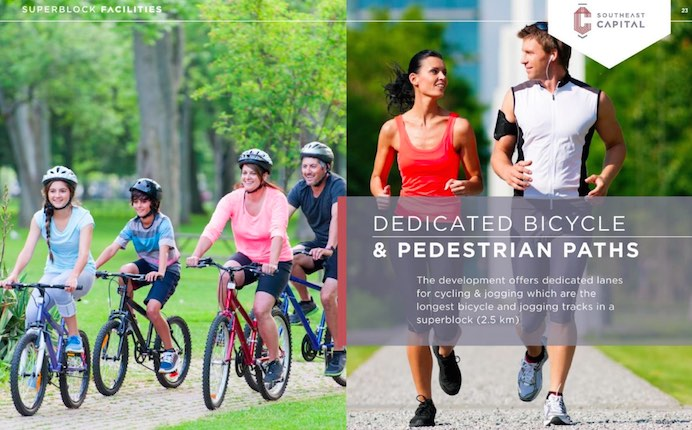 Jogging & Bicycle Track