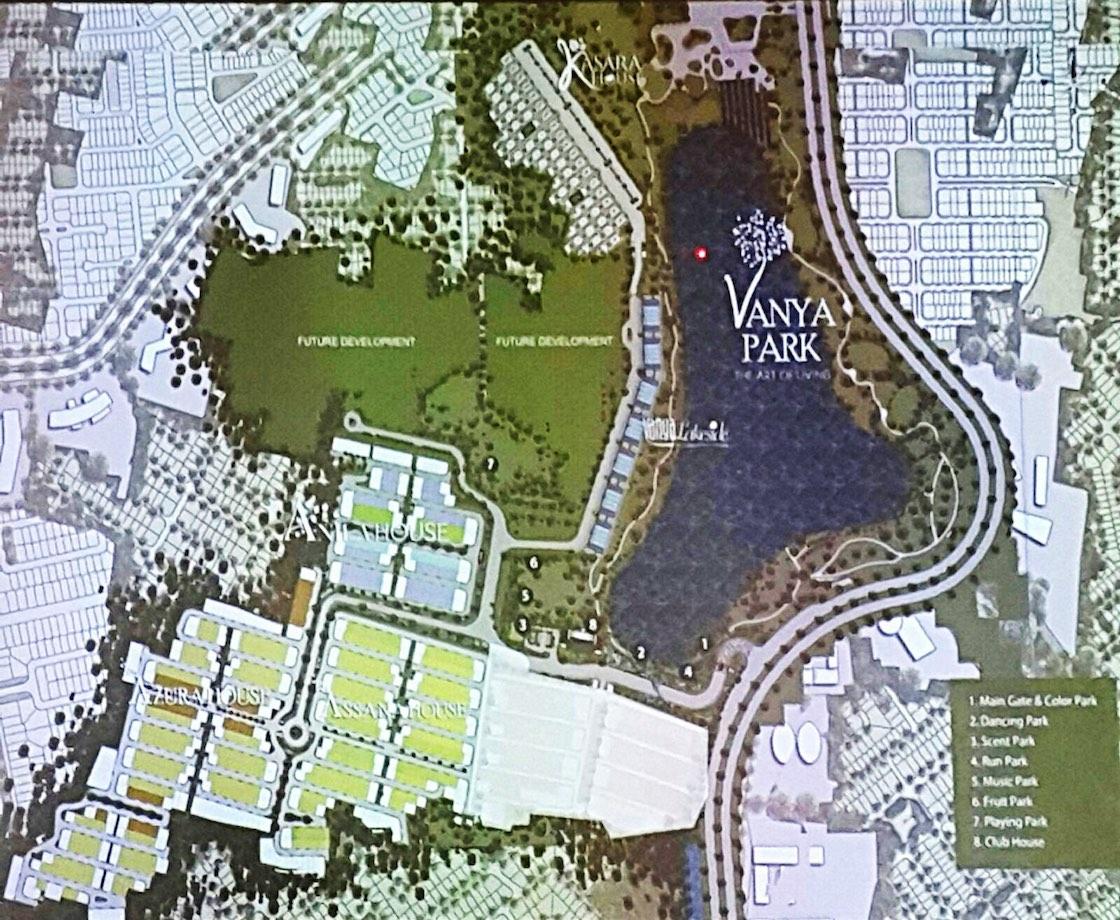 Master Plan Vanya Park BSD City