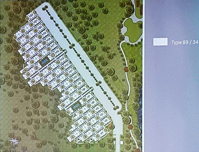 Master Plan Rumah Anartha Vanya Park BSD City