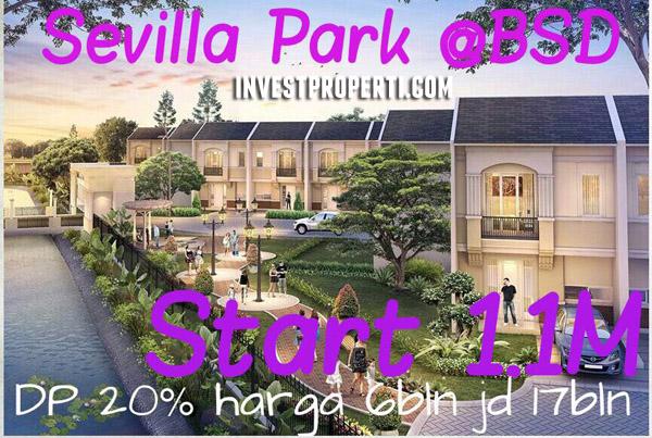 Perumahan Sevilla Park BSD City
