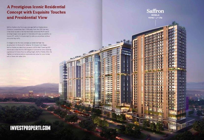 Saffron Sentul City Apartment Brochure