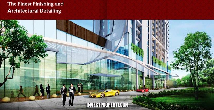 Saffron Sentul City Apartment Design