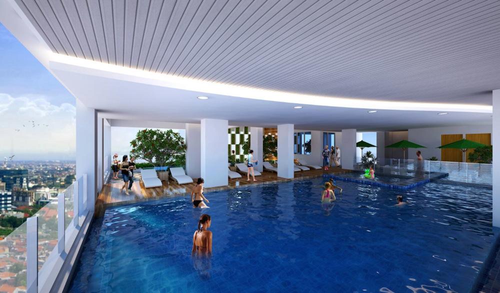 Crown Sky Alam Sutera Swimming Pool