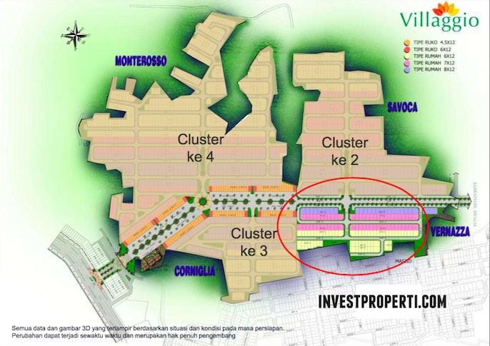 Master Plan Villagio Perumahan Baru CitraRaya 2016