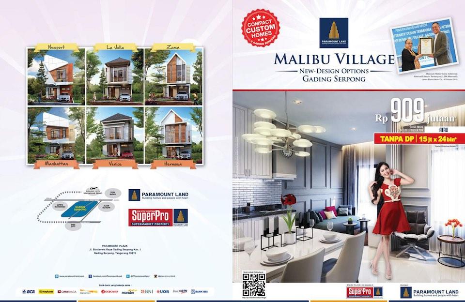 New Malibu Village Paramount Serpong